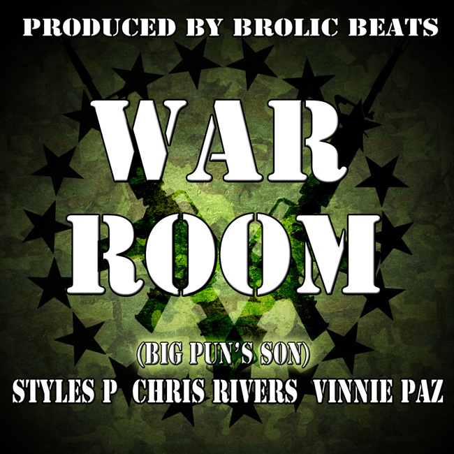 Styles P War Room featuring Vinnie Paz and Chris Rivers